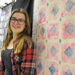 Art students learn the principles of pattern