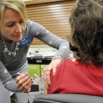 Pharmacy delivers flu shots, but not COVID tests