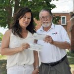 Creemore Legion 50/50 benefits youth