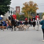 Horses and hounds parade through Creemore