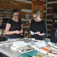 Community pitches in to create paper art installation