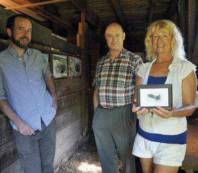 Artists on Location during Creemore Festival of the Arts