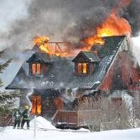 Singhampton home destroyed by fire