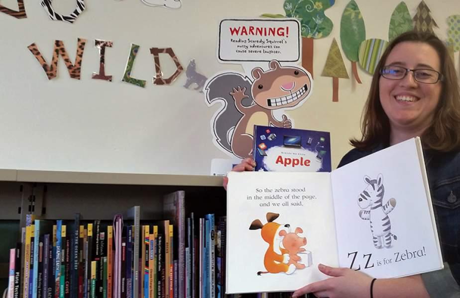 Library goes wild for TD reading program