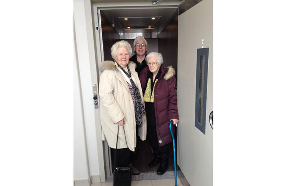 New Lowell church lift now operational