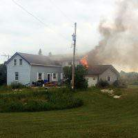House destroyed by fire not insured, donations appreciated