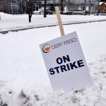 Four unions unite for cross-province walkout