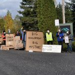 Residents protest Mansfield Ski Club expansion